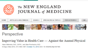 nejm checkup clipping