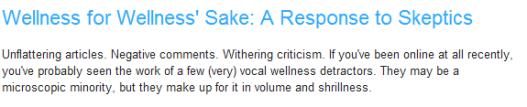 wcs--response to skeptics