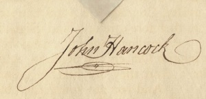 John_Hancock_Envelope_Signature