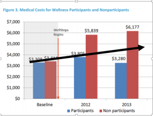 wellsteps cost per person