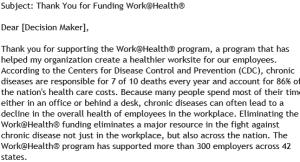 wellness lobbying letter